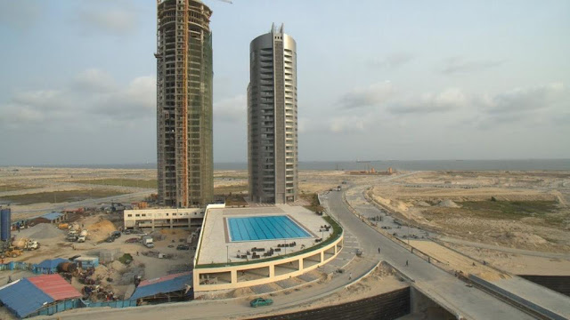 The Eko Pearl Towers project is Eko Atlantic's residential development